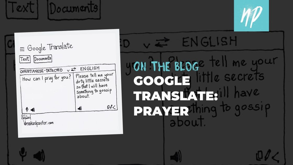 Google Translate: Prayer