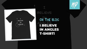 Do You Believe in Angles? Here's the Tee for YOU!