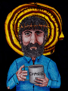 "New In the Image of Christ Drawing: ""Change"""