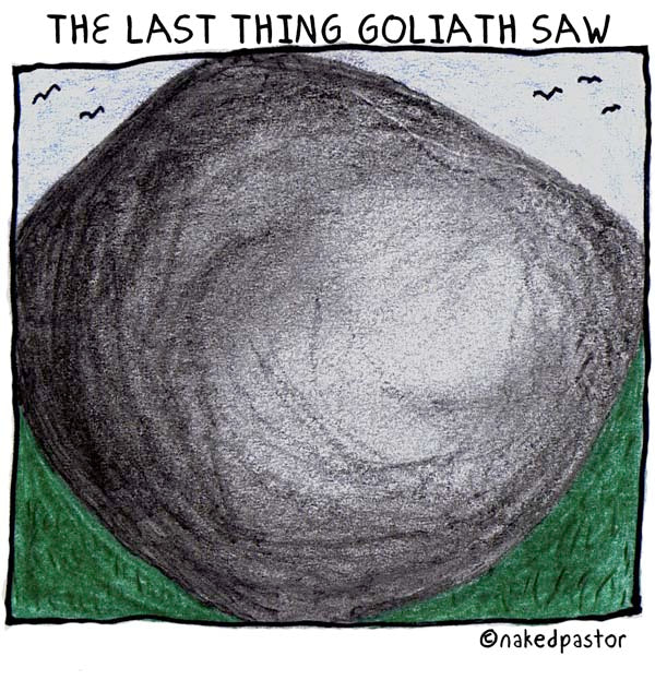 The Last Thing Goliath Saw