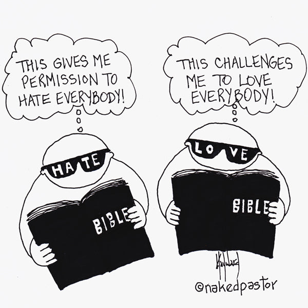 The Bible: Hate or Love