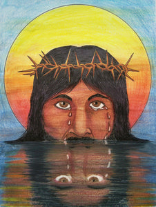 "NEW Image of Christ ""Jesus Cries"" and a Story of a Boy"