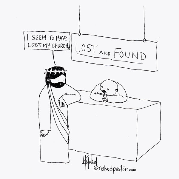 Jesus at the Lost and Found