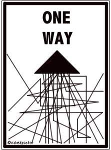 cartoon: one ways