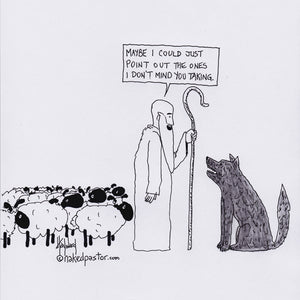 When Shepherds and Wolves Make Arrangements