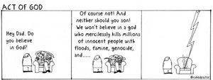 cartoon: act of god