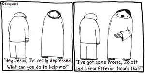 cartoon: depressed
