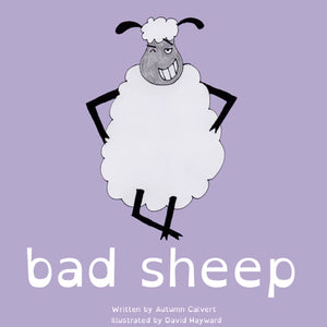 Bad Sheep: A fun children's book about emotions!