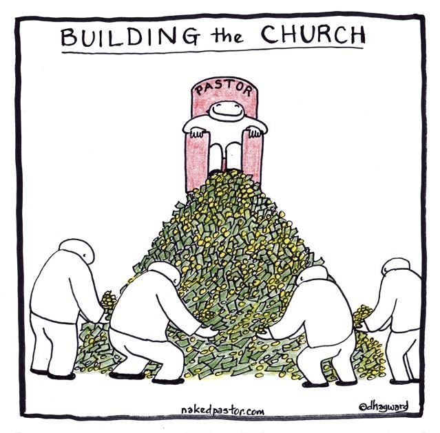 cartoon: building the church