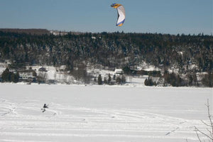 Snow Kites and Catching the Wind