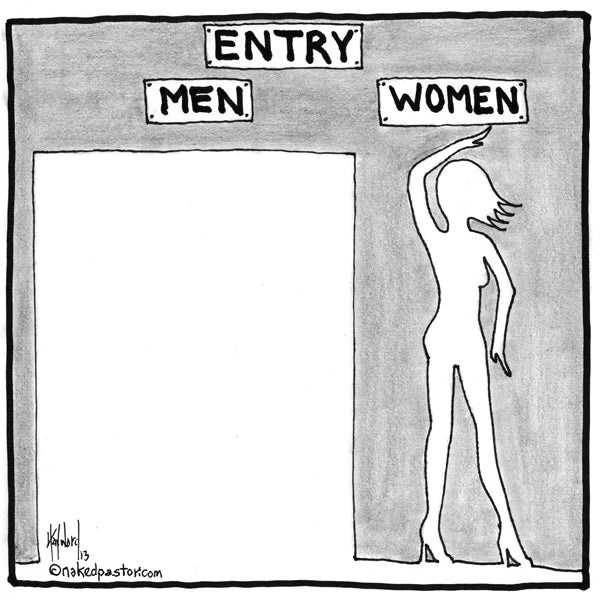 My Most Popular Cartoon About Sexism