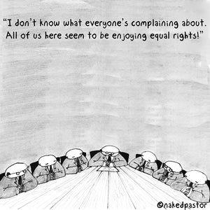 Equal Rights are Meant for All not Some!