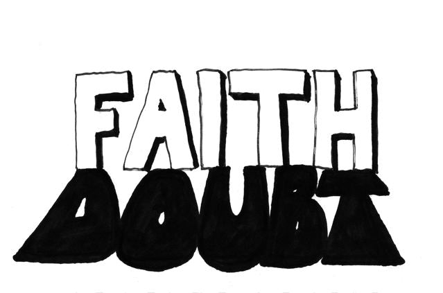 cartoon: faith's shadow