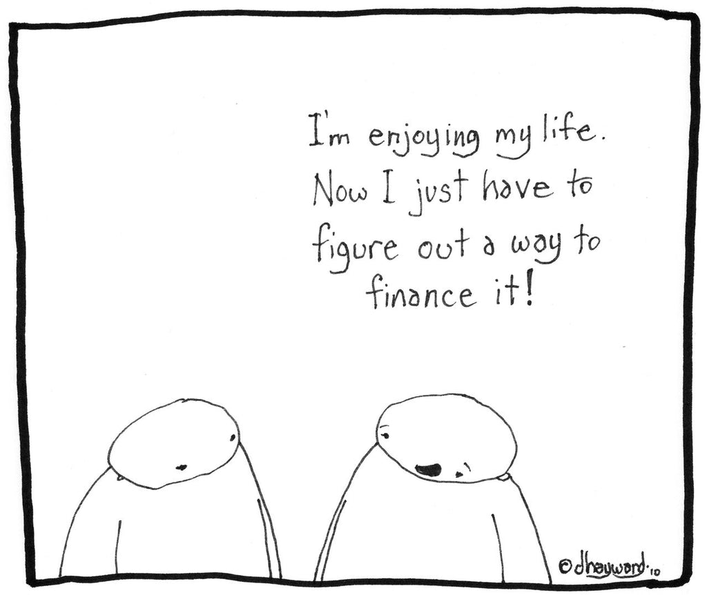 cartoon: finance