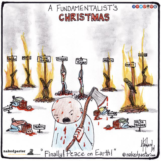 Is this what a fundamentalist's Christmas would look like?