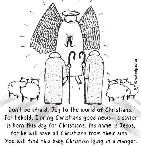 cartoon: the monopolization of christmas