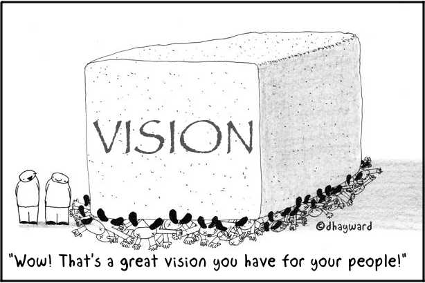 cartoon: great vision