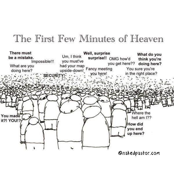 the first few minutes of heaven