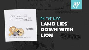 The Lamb Lies down with the Lion
