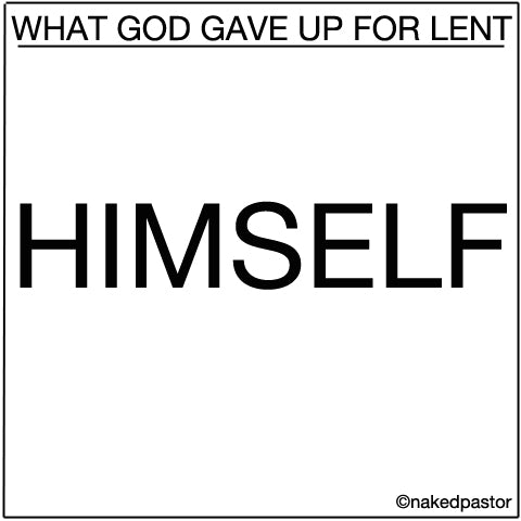 cartoon: lent