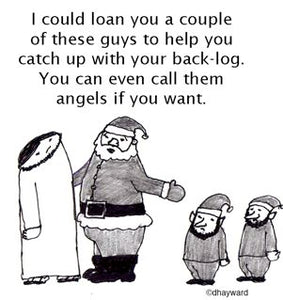 cartoon: The Generosity of Santa