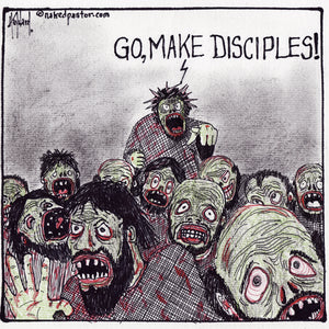 zombie Christ, zombie disciples, and eating your brains