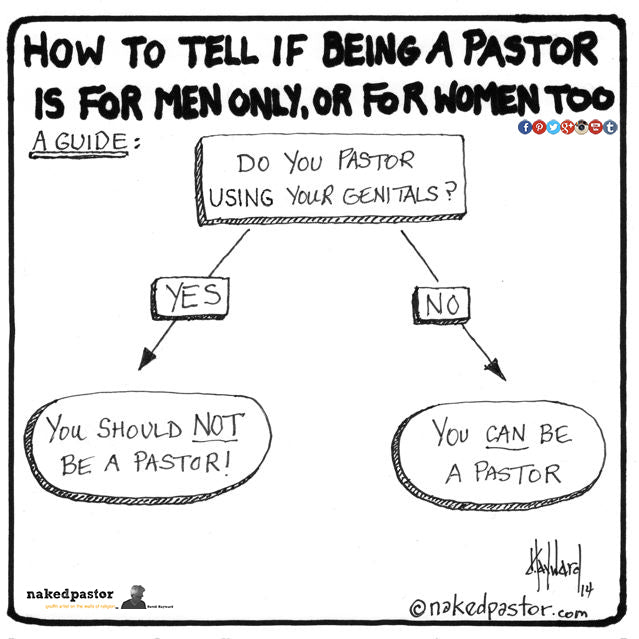 a guide to tell if women are allowed to be pastors