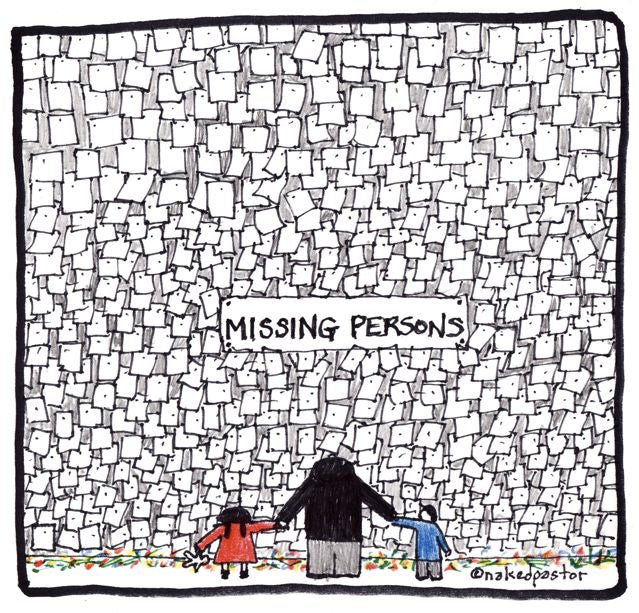 cartoon: missing persons