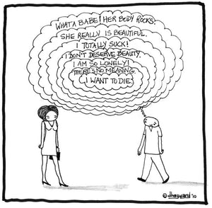 cartoon: thoughts within thoughts