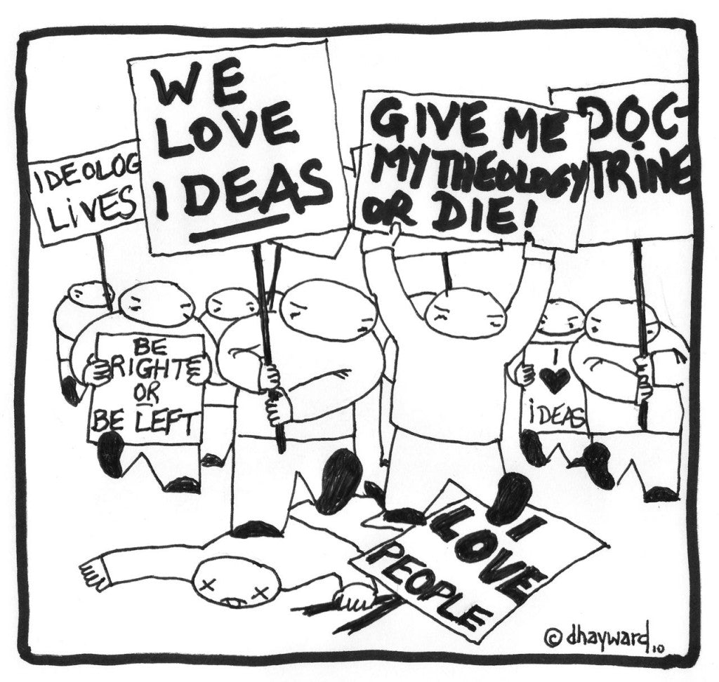 cartoon: ideas people