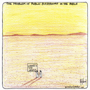 The Problem of Public Bathrooms in the Bible