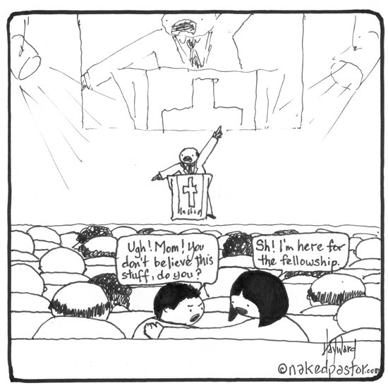 the real reason many people go to church