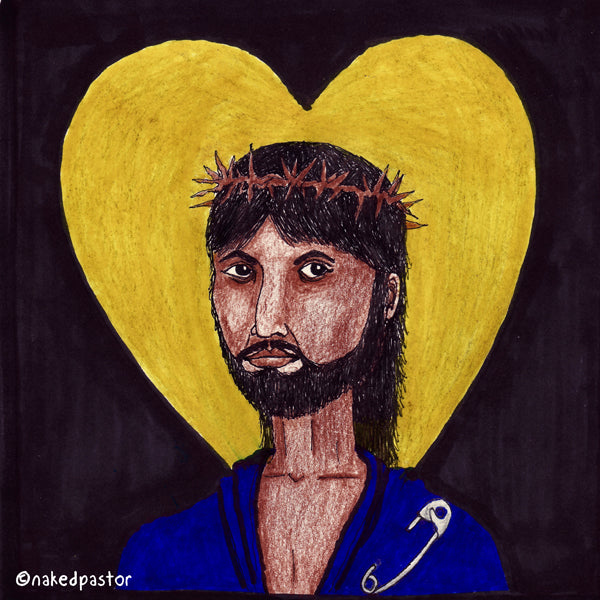 "New Image of Christ cartoon ""Safety"""