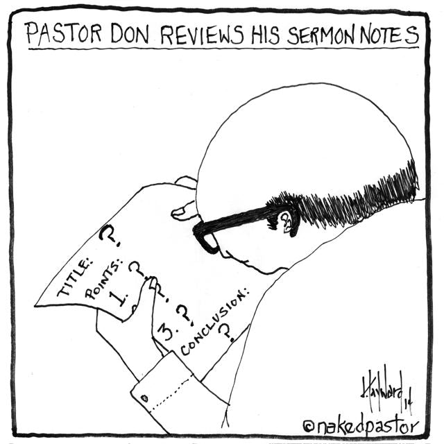 should pastors provide answers or pose questions?