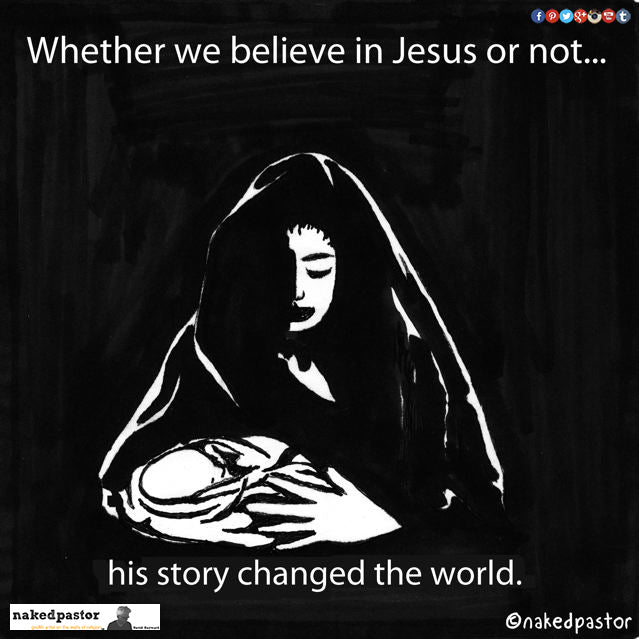 Whether we believe in Jesus or not