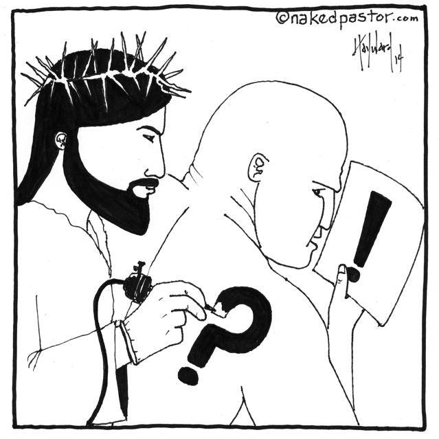 WARNING: Do NOT trust Jesus with your tattoo!