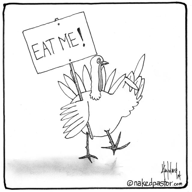 Did you see this turkey's self-destructive protest?