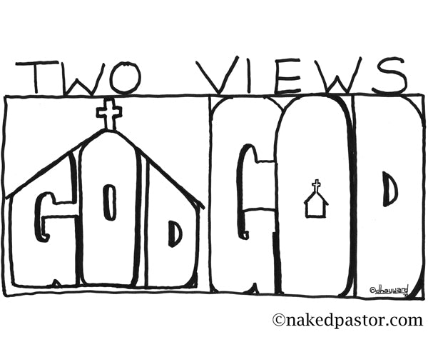 Two Views of the Relationship Between God and the Church
