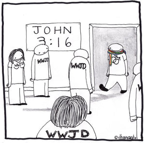 cartoon: wwjd lgbt