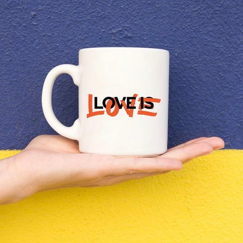 love is love mug by nakedpastor David Hayward