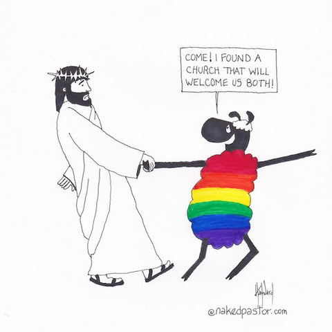 i found a church cartoon by nakedpastor david hayward