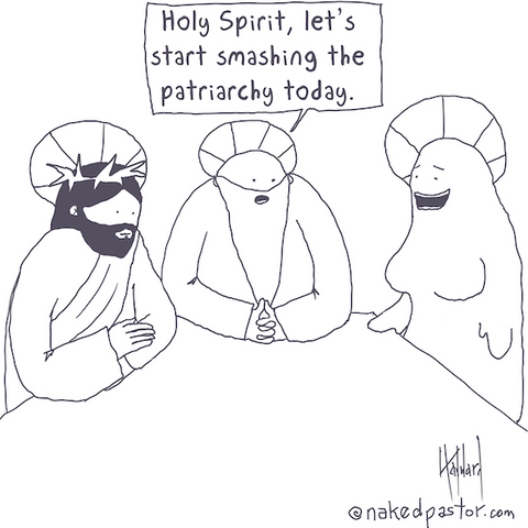 """Start Smashing the Patriarchy"" cartoon by nakedpastor David Hayward"