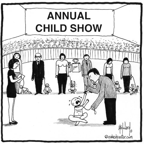 """Annual Child Show"" by nakedpastor David Hayward"