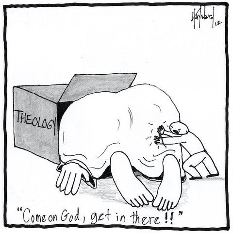 """God Box"" cartoon by nakedpastor David Hayward"