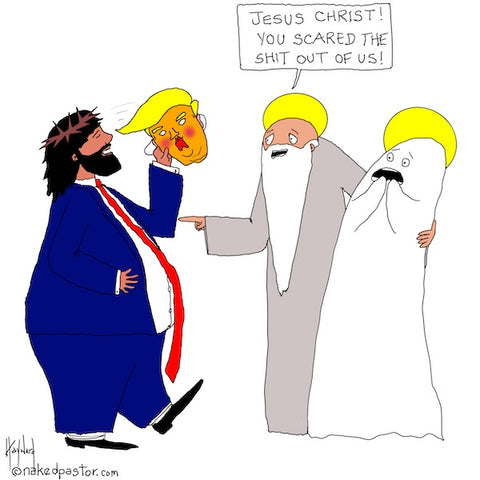 Halloween Jesus CARTOON