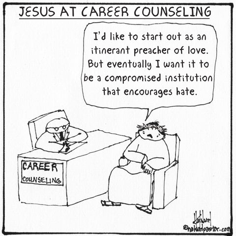 Jesus at Career Counseling