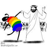 Jesus Dances with the LGBTQ Sheep Digital Download