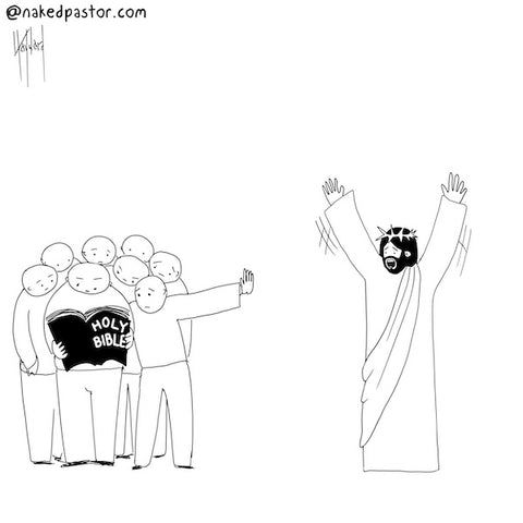 Jesus Interruptus CARTOON