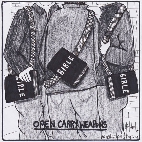 Open Carry Weapons