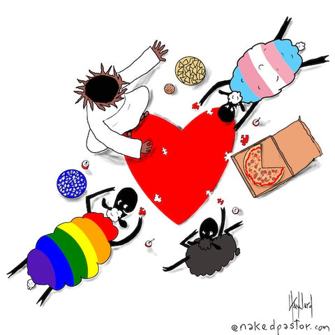 Transgender Puzzle of Love CARTOON